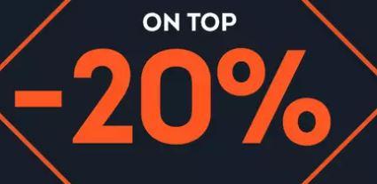 SportScheck End of Season Sale + 20% Rabatt auf über 1.800 Artikel