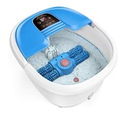 AREALER elektrisches Fuss-Massage-Rad mit Heizung, Vibrations- und Sprudelmassage für 59,99 Euro