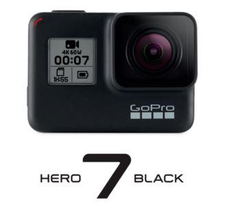 GoPro Hero 7 Black 4K 60FPS Action Cam für nur 319,90 Euro inkl. Versand