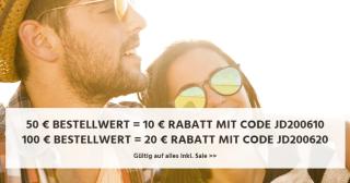 Jeans-Direct.de – 10,- Euro Rabatt ab 50,- Euro oder 20,- Euro Rabatt ab 100,- Euro Bestellwert!