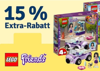15% Rabatt auf Artikel von LEGO Friends im myToys Onlineshop