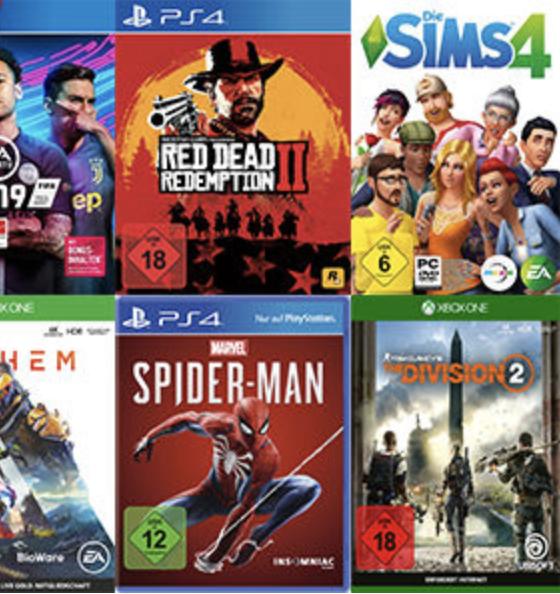 [Media Markt] 3 Games kaufen + 2 kostenlos erhalten Xbox, PS4 …