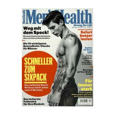 Men's Health Jahresabo