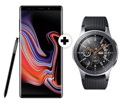 Knaller! MD Vodafone green Allnet-Flat mit 2GB Daten für mtl. 26,99 Euro + Samsung Galaxy Note9 & Galaxy Watch für einmalig 79,- Euro