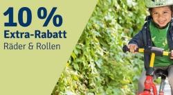 Nur noch heute: 10% Extra-Rabatt auf alles mit Räder & Rollen bei myToys!