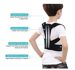 Kinder Schulterstütze zur Haltungskorrektur mit 2 Alu-Stützplatten für nur 10,99 Euro inkl. Prime-Versand