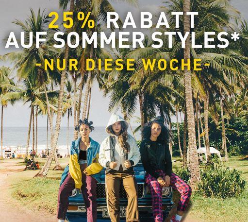 25% Rabatt auf Sommer Styles im Puma Onlineshop