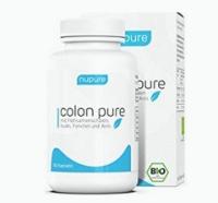 Nupure Colon Pure, BIO Darmreinigung mit Flohsamenschalen Pulver