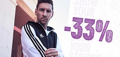 Letzter Tag: 33% Rabatt bei Adidas auf über 5.600 ausgewählte Produkte – auch viel reduzierte Kleidung und Schuhe