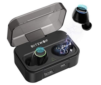 BlitzWolf BW-FYE3 Bleutooth In-Ears mit Ladestation für 28,59 Euro