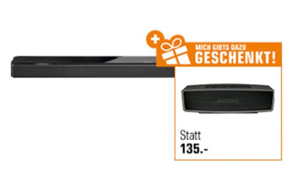 Bose Soundbar 700 + Bose SoundLink Mini II Bluetooth Lautsprecher