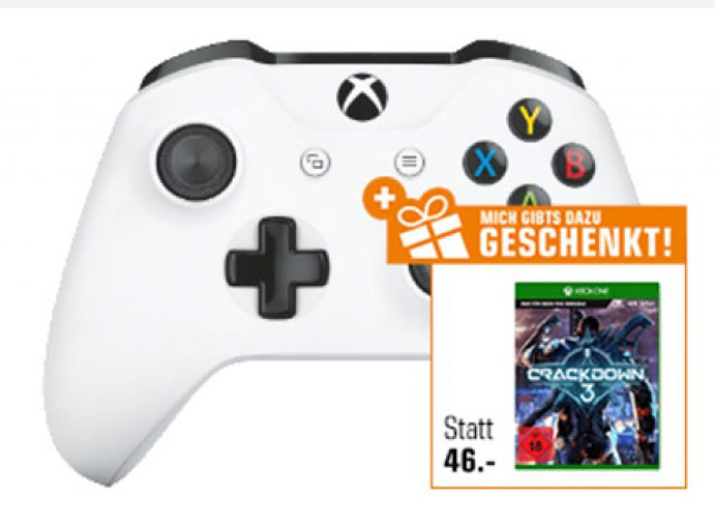 Xbox Wireless Controller + Crackdown 3