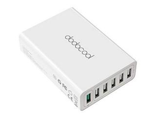 Dodocool 58W 6-Port USB Ladegerät mit Quick Charge 3.0 für 13,99 Euro bei Amazon (Vergleich 19,99 Euro)
