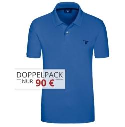 Doppelpack Gant Piqué Polos für 80,- Euro inkl. Versand bei Hirmer
