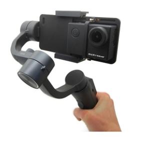GoXtreme GX1 Dual Gimbal Halterung für Actioncams und Smartphones