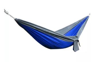 IPRee 270x140CM Hängematte aus 210T Nylon bis 250kg für nur 8,76 Euro