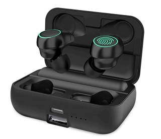 Holyhigh i19-2 Wireless In-Ears mit 3000 mAh Akku-Box inkl. Powerbank-Funktion