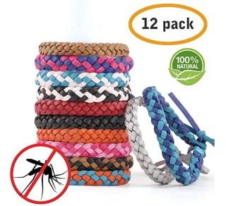 12er Pack AYOUYA Mückenschutz Armbänder für 7,79 Euro
