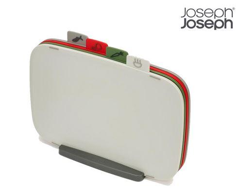 Joseph Joseph 4-teiliges Schneidebrett-Set mit Ständer für nur 27,90 Euro inkl. Versand