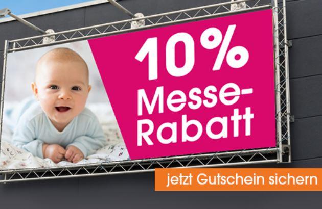 10% Rabatt auf (fast) das gesamte Sortiment im Babymarkt Online-Shop