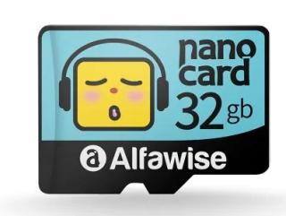 Alfawise MicroSD Karte mit 32GB Speicher für nur 3,87 Euro