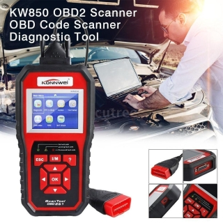 KONNWEI KW850 Universal OBD II Diagnosegerät für nur 44,99 Euro