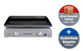 Campingaz Plancha BlueFlame L Grill inkl. Campingaz Bluetooth Grillthermometer und Grillwender für 179,90 Euro