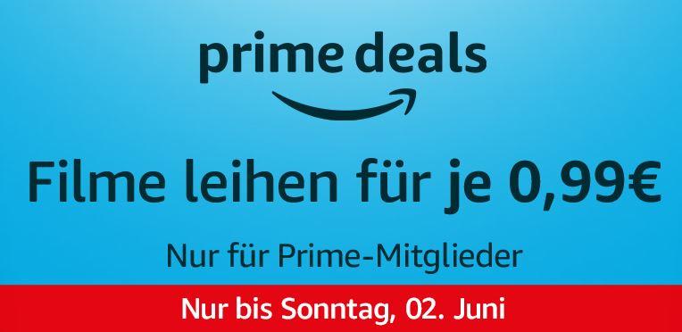 Prime Deal: 10 verschiedene Filme bei Amazon Video für je nur 0,99 Euro leihen