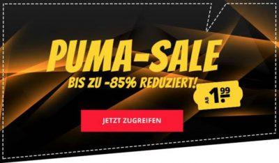 PUMA Mega-Sale bei SportSpar mit bis zu 85% Rabatt