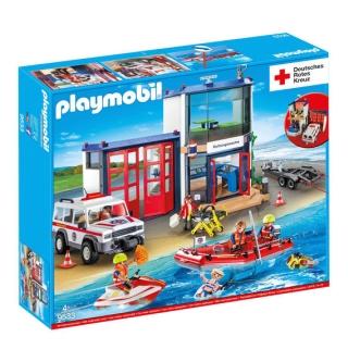 PLAYMOBIL Deutsches Rotes Kreuz DRK Mega-Set 9533 für nur 49,99 Euro inkl. Versand