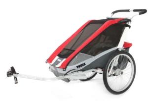 THULE Kinderfahrradanhänger Chariot Cougar 1 Red nur 444,50 Euro