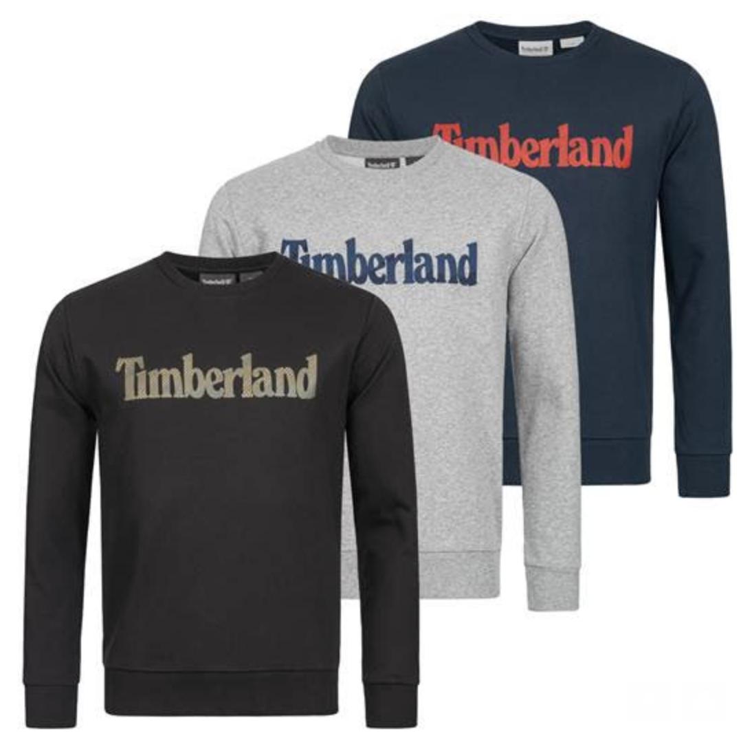 Timberland Herren Crew Sweatshirt A1NRI-I20 für nur 33,94 Euro inkl. Versand