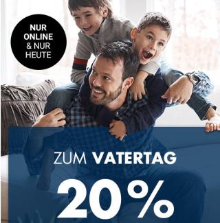 Galeria-Kaufhof: 20% Rabatt auf Mode, Sportbekleidung und Schuhe für Herren