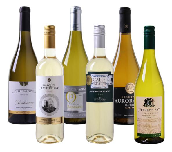 """Wein Probierpaket """"Nah und Fern"""" mit 6 verschiedenen Weißweinen für nur 35,89 Euro inkl. Versand"""