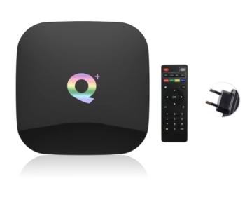Q Plus TV-Box Android 9.0 TV-Box mit 4GB Ram und 64 GB Speicher nur 37,99 Euro