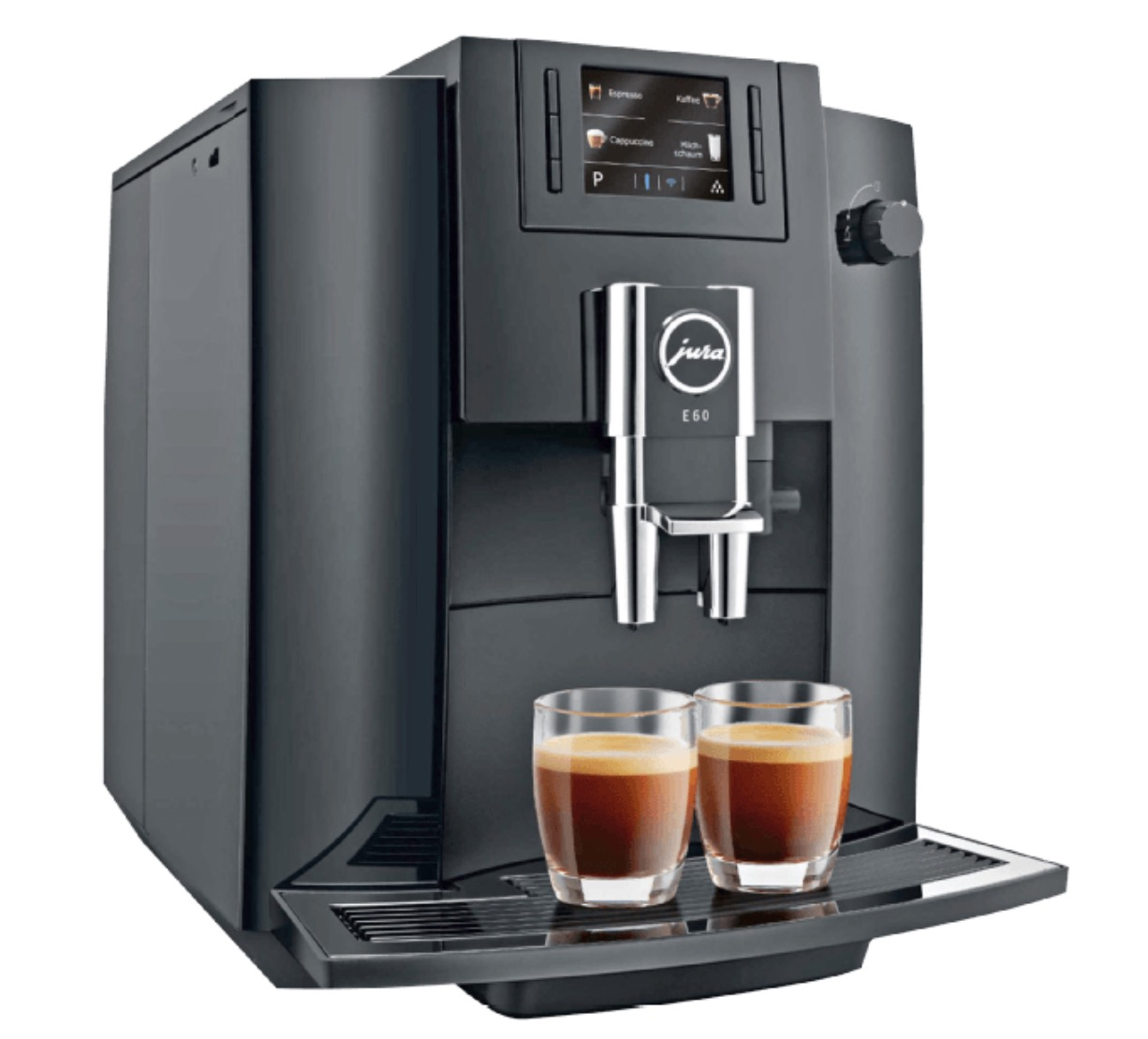 JURA E60 Kaffeevollautomat Piano Black für nur 609,19 Euro inkl. Versand
