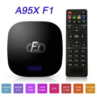 A95X F1 Android TV Box mit 2GB Ram und 16GB Speicher für 23,63 Euro