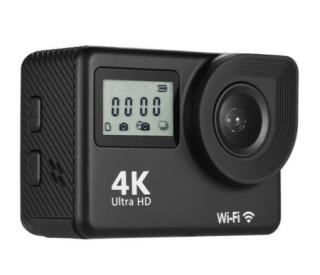 """F1 4K Actioncam mit 18MP, 2.0"""" LCD Display und  Fernbedienung für 31,99 Euro"""