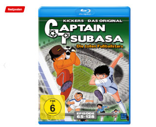Captain Tsubasa – Die tollen Fußballstars – Episoden 65-128 [Blu-ray] für 13,- Euro