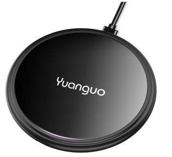 Yaunguo Qi  Wireless Fast-Charger für 5,49 Euro bei Amazon