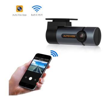 AUTO-VOX D6 Pro WiFi DashCam mit beweglichem Objektiv für 53,19 Euro