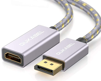 DuKabel DisplayPort auf HDMI Adapterkabel mit vergoldeten Kontakten nur 2,99 Euro