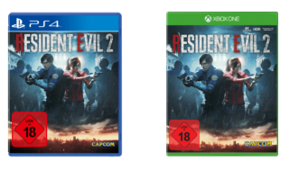 Resident Evil 2 fürPlayStation 4 oder Xbox One je nur 35,- Euro inkl. Versand