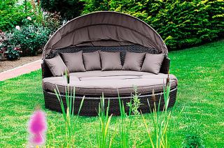 Relax-Sonneninsel Riva Braun für nur 359,99 Euro inkl. Versand bei OBI