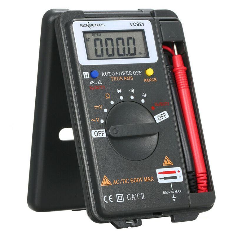 RICHMETERS Mini Digital Multimeter für nur 11,- Euro inkl. Versand