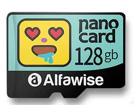 Alfawise 128GB MicroSD Karte für nur 13,41 Euro inkl. Versand