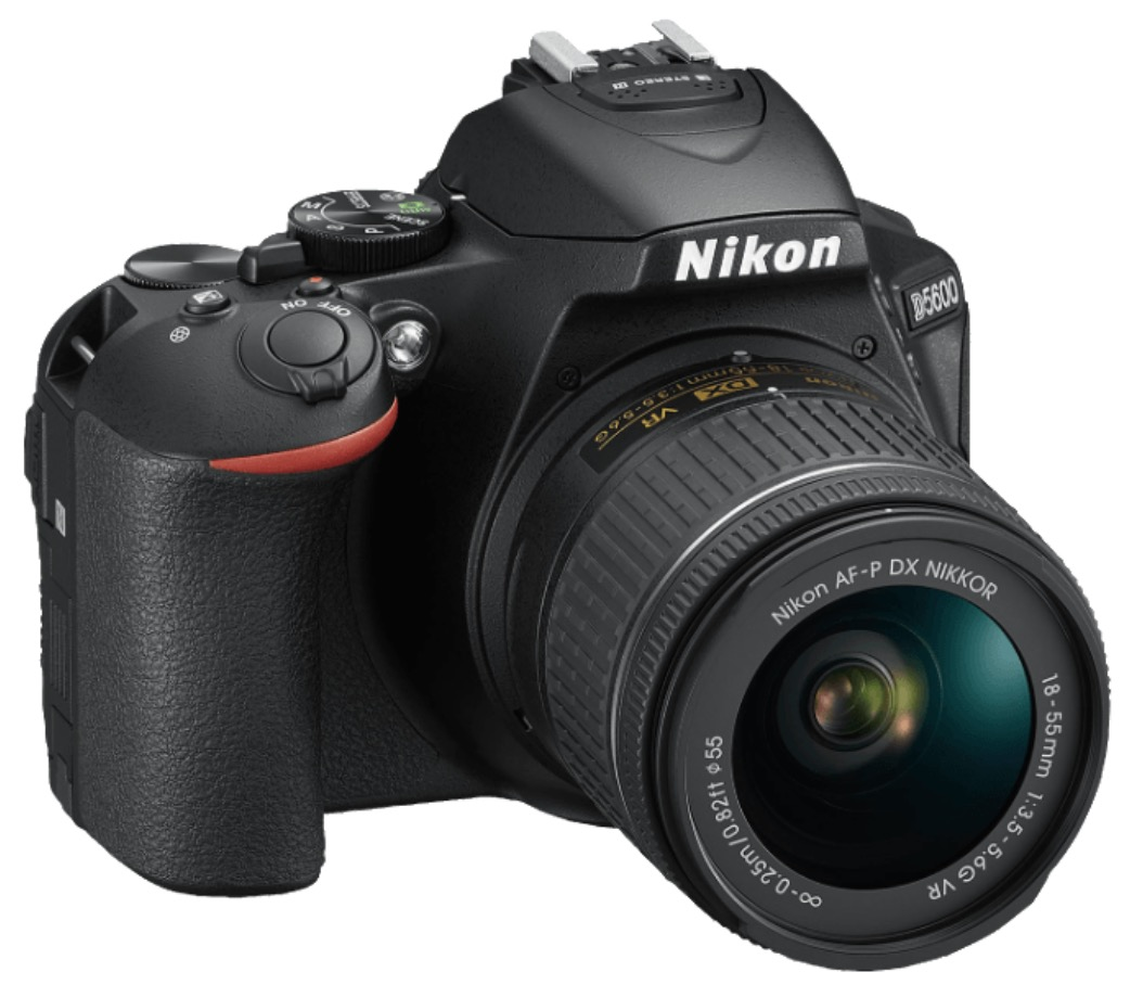NIKON D5600 Kit Spiegelreflexkamera (24,2 Megapixeln, Touchscreen, WLAN) + 18-55 mm Objektiv für nur 444,- Euro (statt 529,- Euro)
