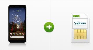 Google Pixel 3A 64GB Smartphone mit MD Telefonica Free M 10GB Tarif nur 19,99 Euro mtl. + einmalig 19,- Euro