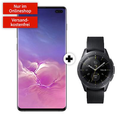 Knaller! MD Vodafone green LTE mit 6GB für mtl. 36,99 Euro + Samsung Galaxy S10+ & Galaxy Watch für nur einmalig 99,- Euro