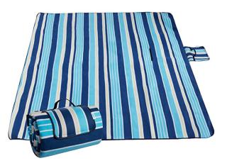 Wasserdichte Sable Picknickdecke 200 x 200 cm für nur 9,99 Euro